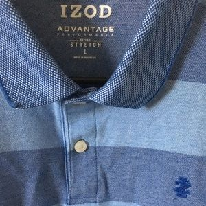 Izod blue dress shirt. Rare worn